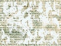 Fondo abstracto manuscrito Imagenes de archivo