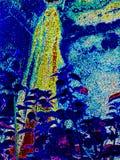 Fondo abstracto moderno de la naturaleza, jardín de los extractos stock de ilustración