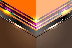 Fondo abstracto moderno de la plantilla Imagen de archivo