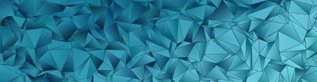 Fondo abstracto, mosaico triangulado Fotos de archivo