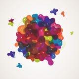 Fondo abstracto multicolor Imagenes de archivo