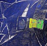 Fondo abstracto multicolor interesante - modelo Imagen de archivo
