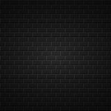 Fondo abstracto negro textura de la pared de ladrillo Fotos de archivo libres de regalías