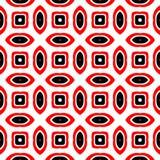 Fondo abstracto negro y rojo stock de ilustración