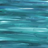 Fondo abstracto nevy pintado a mano del azul y de la turquesa stock de ilustración