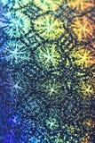 Fondo abstracto olográfico del piso del disco Fotos de archivo