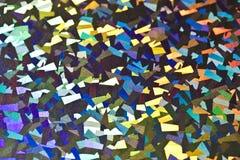Fondo abstracto olográfico del piso del disco Fotografía de archivo libre de regalías