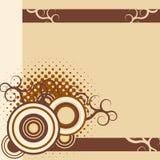 Fondo abstracto ornamental Foto de archivo libre de regalías