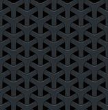 Fondo abstracto oscuro del vector con una rejilla del metal libre illustration