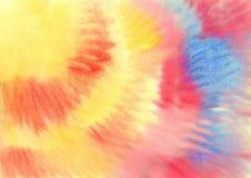 Fondo abstracto pintado en acuarela Fotos de archivo libres de regalías