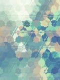 Fondo abstracto polivinílico bajo Fotografía de archivo