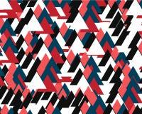 Fondo abstracto que consiste en muchos triángulos coloreados stock de ilustración