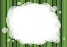 Fondo abstracto rayado verde Imagenes de archivo