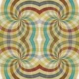 Fondo abstracto retro ilustración del vector