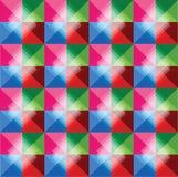 Fondo abstracto retro colorido Ilustración del Vector