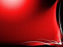 Fondo abstracto rojo Imagenes de archivo