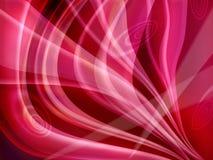 Fondo abstracto rojo Foto de archivo libre de regalías
