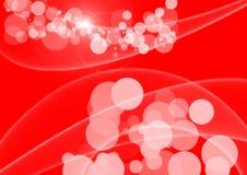 Fondo abstracto rojo Imagen de archivo libre de regalías