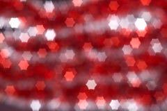 Fondo abstracto rojo de la Navidad Fotografía de archivo libre de regalías