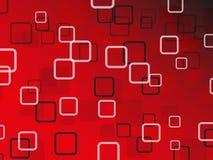 Fondo abstracto rojo del vector Imagen de archivo libre de regalías