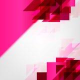 Fondo abstracto rosado del vector Foto de archivo libre de regalías