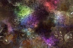 Fondo abstracto ruidoso granoso coloreado Grunge interesante Imagen de archivo libre de regalías