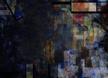 Fondo abstracto silenciado ilustración del vector