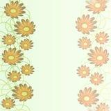 Fondo abstracto suave en colores en colores pastel con adorno floral en colores en colores pastel Imagenes de archivo