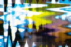 Fondo abstracto a todo color de la interferencia de la textura fotografía de archivo