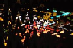 Fondo abstracto a todo color de la interferencia de la textura Fotografía de archivo libre de regalías