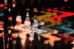 Fondo abstracto a todo color de la interferencia de la textura Foto de archivo