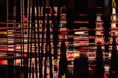 Fondo abstracto a todo color de la interferencia de la textura Imágenes de archivo libres de regalías