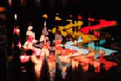 Fondo abstracto a todo color de la interferencia de la textura Imagenes de archivo
