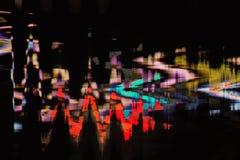 Fondo abstracto a todo color de la interferencia de la textura Imagen de archivo libre de regalías