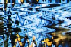 Fondo abstracto a todo color de la interferencia de la textura Foto de archivo libre de regalías