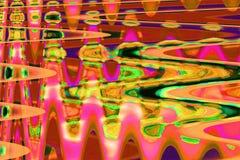 Fondo abstracto a todo color de la interferencia de la textura Fotos de archivo libres de regalías