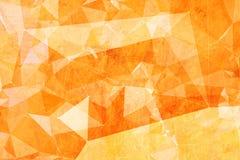 Fondo abstracto triangular polivinílico bajo Fotografía de archivo