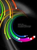 Fondo abstracto, vector Fotografía de archivo libre de regalías