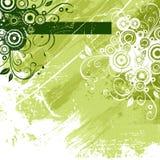 Fondo abstracto verde stock de ilustración