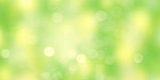 Fondo abstracto verde borroso Papel pintado colorido Fotografía de archivo libre de regalías