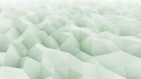 Fondo abstracto verde claro del movimiento para las presentaciones y los informes modernos Conceptos de la fluctuación y de los c libre illustration