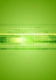 Fondo abstracto verde de alta tecnología Fotografía de archivo libre de regalías
