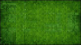 Fondo abstracto verde del mosaico Fotografía de archivo libre de regalías