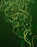 Fondo abstracto verde del ornamento libre illustration