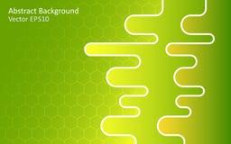 Fondo abstracto verde del vector Foto de archivo libre de regalías