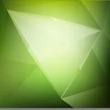 Fondo abstracto verde del vector Fotos de archivo libres de regalías