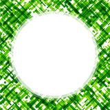 Fondo abstracto verde en blanco Fotos de archivo