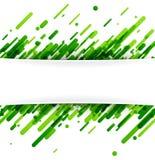 Fondo abstracto verde en blanco Foto de archivo