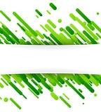 Fondo abstracto verde en blanco Imagen de archivo libre de regalías