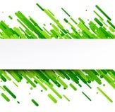 Fondo abstracto verde en blanco Fotografía de archivo libre de regalías